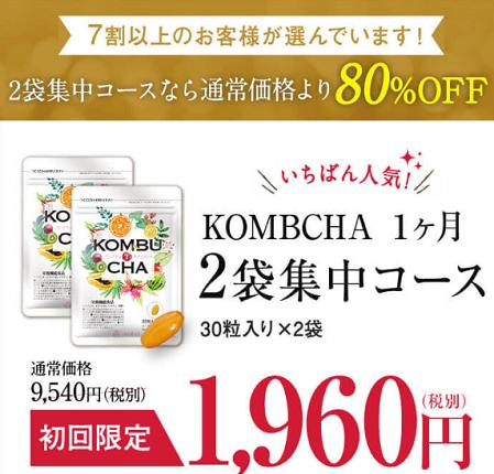 定期購入【初回限定1,960円・2袋集中コース】